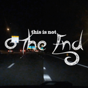 the end, official lyric video, RKVC, life on the road copy